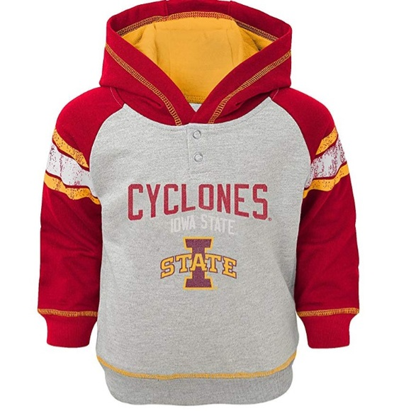 NCAA Other - Boys Iowa State Cyclones French Terry Hoodie NWT M